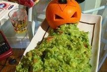 Halloween ideas / Collection of Black food ideas as well as Halloween party food and decoration ideas