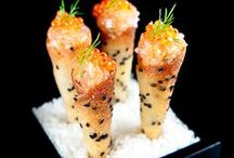 Finger food / I love entertaining and am always looking for new delicious snacks to unleash on my guests :)