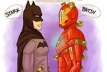 Marvel and DC universe :D