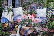 Belle maison pour la décoration de mariage / Belle maison pour la décoration de mariage, le jardin sera très romantique