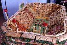 Super Bowl Entertaining - Inspiration Board / This Old Town Post Inspiration Board is cultivated to help you with football entertaining ideas. www.oldtownpost.com | Keeping you in the Old Town *Super Bowl* Know!