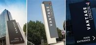 Case Study - Vantage London / From #HighLevel lettering to #Monoliths, here is some of our #Bespoke #External LED #Illuminated #Signage.