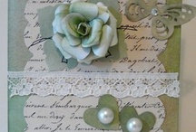 My Vintage/Shabby Chic Cards