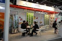 Shimla Hills @Gulfood 2013, Food Exhibition / Shimla Hills participated in #Gulfood 2013, and we took the opportunity to display our vivid product range of fruit pulp, puree and concentrates, spices & herbs and IQF range to the international visitors who congregated in Dubai during the exhibitions.
