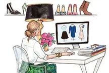 · FASHION ILLUSTRATION · / Ilustraciones sobre moda