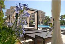 Protur Biomar Gran Hotel & Spa***** / El Protur Biomar Gran Hotel & Spa de 5 estrellas es un magnífico hotel en Sa Coma. Se encuentra junto al parque natural de Punta de n'Amer y a tan sólo 300 metros de la playa de Sa Coma, Mallorca.