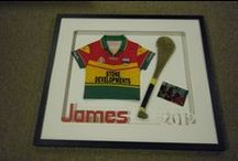 Picture Framing....Expertly ! / Fine Framers , Carlow specialise  in custom picture framing. We frame all types of art and objects, including sports jerseys , medals and memorabilia.
