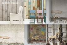 Wonderwall: Feature Walls / Interesting ideas for feature walls in your home.