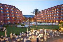 Protur Roquetas Hotel & Spa***** / Hotel de 5 estrellas situado en primera linea de Playa en roquetas de Mar, Almería
