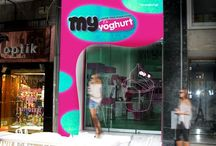 MyYoghurt / MyYoghurt : Original Greek Frozen Yoghurt, self Service platform with more than 12 flavors, 40 toppings, pralines and freshly made waffle cones