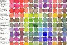 Color Palettes / Colors I like