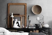 interior / Design - Styling - Interiordesign - livingroom - bedroom - kitchen - blackandwhite - black and white - style - clean
