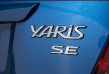 2015 Toyota Yaris / The 2015 Toyota Yaris Hatchback offers bold and distinctive European styling in 3 fun-to-drive, fuel-efficient models: the 3-door Yaris Hatchback CE and the 5-door Yaris Hatchback LE and SE.