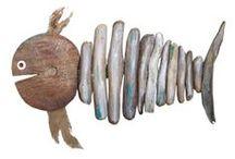 """""""legni di mare""""...non solo miei / Una raccolta di legni """"spiaggiati"""" che riportati a nuova vita diventano oggetti d'uso quotidiano. Un invito per stimolare la vostra fantasia!  http://ferdixarte.wix.com/legnidimare"""