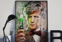 Doctor Who Art Prints / Doctor Who art prints and cards