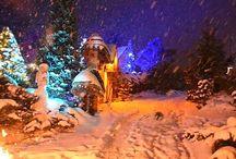 Vánoční Kladruby / Fotografie vánočních Kladruby v Železných horách  - Kladruby u Libice nad Doubravou