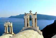 Go Greece! / A love for blue, white and everything Greek