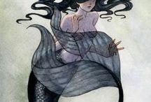 Mermaid, Nautical and Beach / All things mermaid, nautical and beach