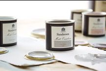 Shades of Sanderson / Sanderson Paints - The Sanderson Design Studio has created the Shades Of Sanderson Collection; a colour palette of 140 subtle shades taken from the complete Spectrum colour range of 1,352 colours to make your decorating choices simple.