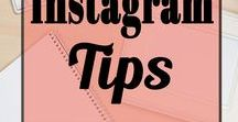 Instagram Tips / Ultimate resource to learn Instagram, grow your Instagram following so you can make money online and work from home with your blog or business!