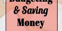 Budgeting & Saving Money / All things frugal! Helpful pins about saving money, budgeting tips, organize your finances, grocery tips, coupon tips, tools and more to help you save and budget!