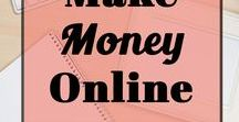 Make Money Online / All about work at home income! If you're looking for side hustles, make extra money or work from home online, this board is the perfect resource!
