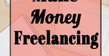 Make Money Freelancing / Make money online and earn a living freelancing! Work at home with Freelance Jobs. Freelance writing tips to help you work from home and earn extra income and lots more!