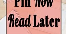Pin Now Read Later / The best of Pin Now Read Later. Gain valuable information in your spare time.  You'll find pins on Blog Traffic Tips, Pinterest Tips, Make Money Online, Work from Home, earn extra money with work at home jobs and so much more!