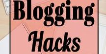 Blogging Hacks / Blogging Hacks! Helpful tips and hacks to help you succeed as a blogger! You'll discover tips/tricks to an effective blog post, favorite tools, plugins, traffic tips, social media and more!