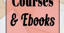 Courses & Ebooks / Courses & Ebooks! Everything you need to learn about Blogs and Business! Pins to help you work at home and make money online. Learn about work from home side hustles and how to earn extra money.