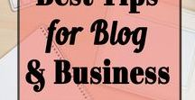 BEST Tips for Blog & Biz / How to create a successful business and make money online through your blog. Social media strategies, organizational tools, etc. Create a better blog and business to earn extra money online. Effective traffic tips and blogging tools. To join as a contributor - Follow us + email drinkcoffeeandprosper@gmail.com with your Pinterest URL + associated email address.