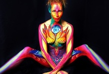 bodypaint / Wonderfull paints we love, some even made with our paint :D but most of all because we love the art