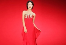 Red Qipao Gown / The First Tailor's Shop Online Who sell Red Chinese style Dress, Red Qipao dress, Red bridal dress, Chinese Red Wedding dress, Red Evening gowns.