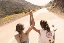 lets be {friends}.  / Without friends, where would I be?