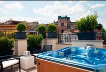 The First Luxury Art Hotel Roma - Rome /  Against the splendid backdrop of Rome, there is a place where luxury and feeling at home interweave to create a new hospitality experience: The First Luxury Art Hotel Roma. At the very heart of the city, this 5-star luxury hotel is just a short walk from the Piazza del Popolo, Via del Corso, and Piazza di Spagna. It is the ideal base for exploring the beautiful Capital while enjoying top-notch accommodations: a truly one of a kind experience.