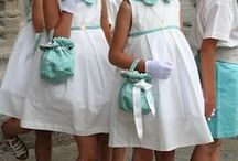 flower girls and page boys / Beautiful outfits for flower girls and page boys cortèges  Blumenkinder