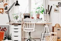 In the {Office} / Work Spaces