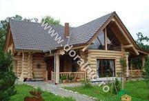 Case din busteni - Cabane din lemn / Oferta firmei noastre cuprinde o gama variata de produse, incepand de la case din lemn rotund, case din busteni, cabane din butuci, casute de gradina din lemn www.doralnic.ro