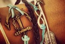 Jewelry: Bracelets, Watches, & Anklets! / by rebecca