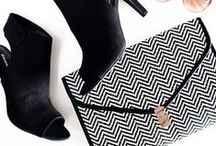 Black & White / Black & white shoes,clothing, accessories for a perfect monochrome style.