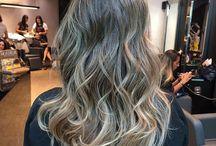 Cabelos / Cortes, penteados e coloração
