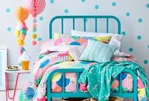 Adairs Kids Dream Room / A dream room for my child using inspiring images that I love and products from the great range of furniture and homewares at Adairs so this amazing dream room can be achieved #AdairsKidsDreamRoom