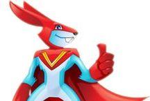 Mascots - Character designs