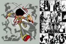 Comic/Manga by Adi Darda / My comic/comic strip/manga projects