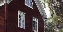 ПОКРАСКА внешняя / покраска фасадов домов, заборов, хоз. построек. Финский и шведский рецепт краски