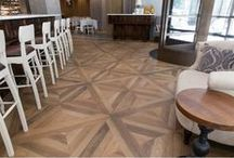 Wood Look Tiles / Porcelain tiles inspired by wood - bring the charm of wood into any space even wet areas.