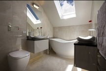 Bathroom Tile Ideas / Tiles are available in a huge variety of designs and colours and are a great way to add design flair to your bathroom, here are some of our favourite ideas