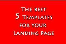 5 Templates per Landing Page