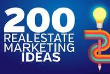 Real Estate Marketing / Real Estate Marketing Tips, Realtor Marketing Tools, Social Media Marketing for Real Estate Agents