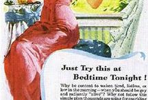 Vintage advertisements and retro advertisements / Sexist, odd and provocative advertisements from the history of advertising.